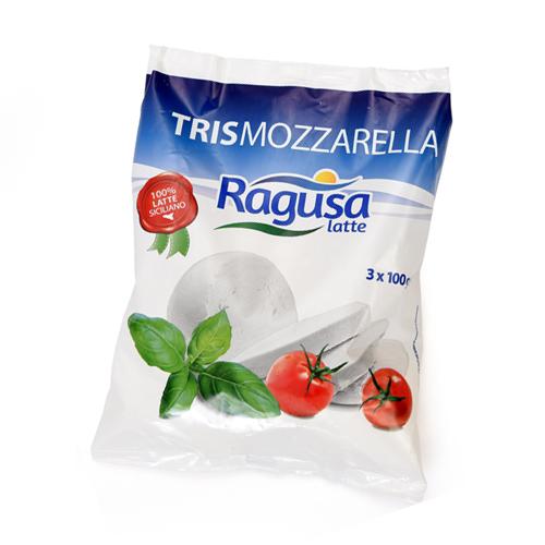 Tris mozzarelle Ragusa Latte
